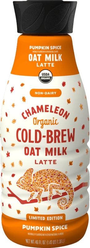 $2.00 for Chameleon Cold-Brew Coffee (expiring on Saturday, 11/14/2020). Offer available at Kroger, Giant (DC,DE,VA,MD), GIANT (PA,WV,MD,VA), MARTIN'S.