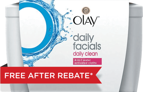 $1.00 for Olay Cleanser OR Cleansing Cloths (expiring on Wednesday, 02/28/2018). Offer available at Walgreens.