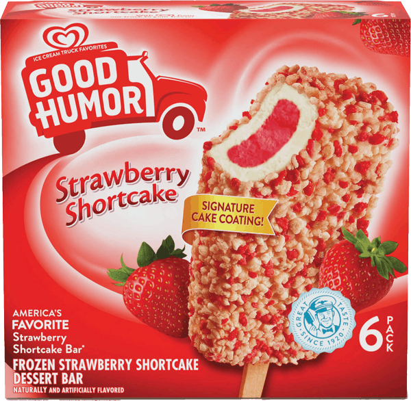 $1.00 for Good Humor® Ice Cream & Frozen Desserts (expiring on Tuesday, 04/02/2019). Offer available at Publix, Food Lion.
