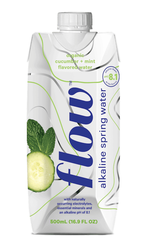 $0.25 for Flow® Alkaline Spring Water (expiring on Sunday, 02/02/2020). Offer available at multiple stores.