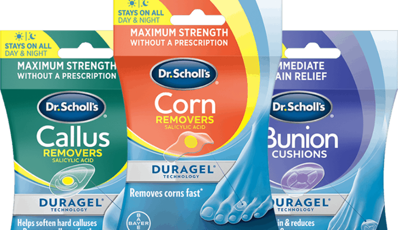 $1.00 for Dr. Scholl's Corns, Callus, Bunion or Blister Duragel Products (expiring on Monday, 03/01/2021). Offer available at multiple stores.
