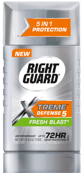 $1.00 for Right Guard® Sport or Xtreme Defense™ Antiperspirant/Deodorant (expiring on Friday, 02/01/2019). Offer available at Walmart.