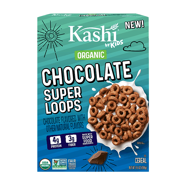 $0.25 for Kashi by Kids Super Loops (expiring on Friday, 01/22/2021). Offer available at multiple stores.