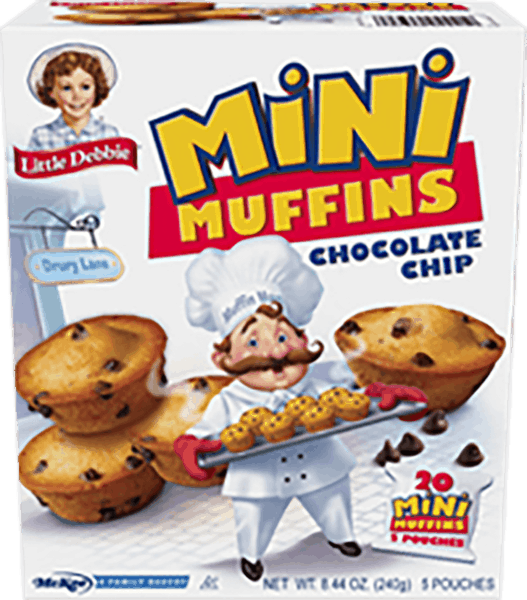 $0.50 for LITTLE DEBBIE® Mini Muffins & Mini Brownies (expiring on Saturday, 06/02/2018). Offer available at multiple stores.