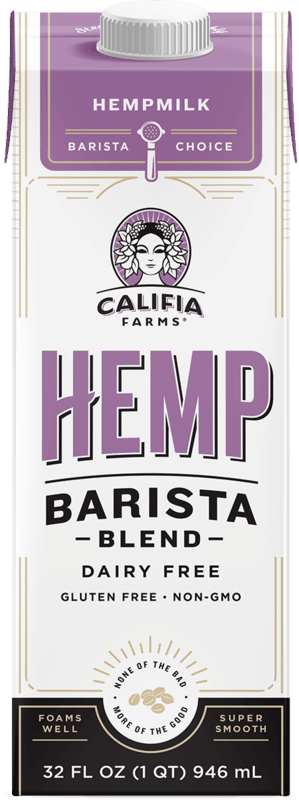 $1.00 for Califia Farms Hemp Barista Blend (expiring on Monday, 08/16/2021). Offer available at Whole Foods Market.