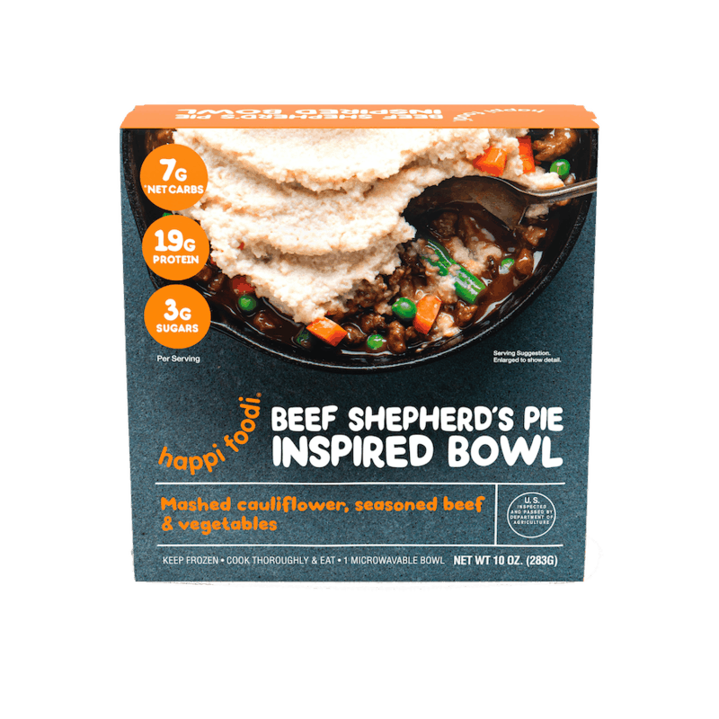 $1.25 for Happi Foodi© Keto Bowls (expiring on Sunday, 11/22/2020). Offer available at multiple stores.