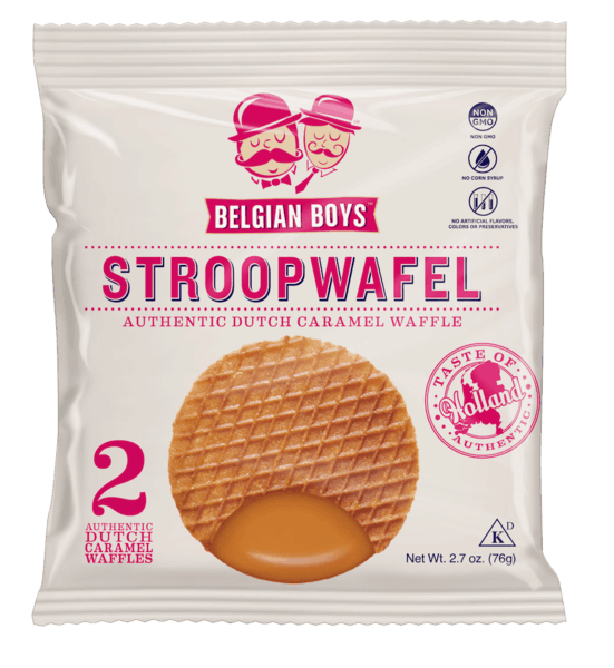 $0.25 for Belgian Boys Stroopwafel (expiring on Tuesday, 08/06/2019). Offer available at ShopRite, Whole Foods Market®, PriceRite.