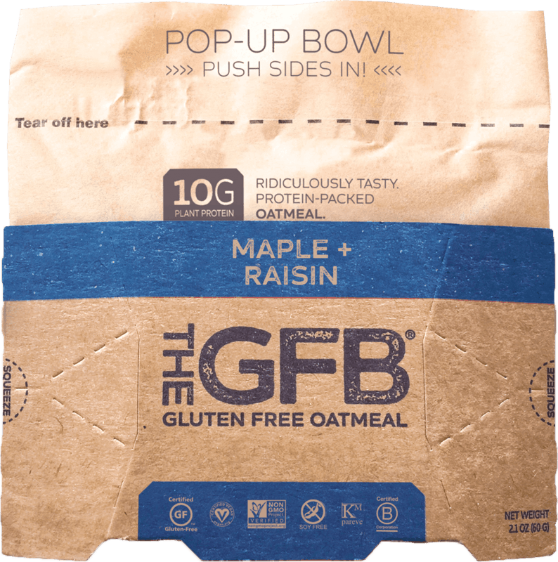 $0.50 for The GFB High Protein Oatmeal (expiring on Sunday, 05/24/2020). Offer available at multiple stores.