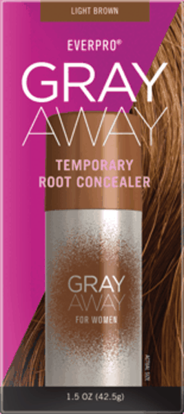 $2.00 for EVERPRO GRAY AWAY Temporary Root Concealer Spray (expiring on Thursday, 06/25/2020). Offer available at Rite Aid, H-E-B, Wegmans.