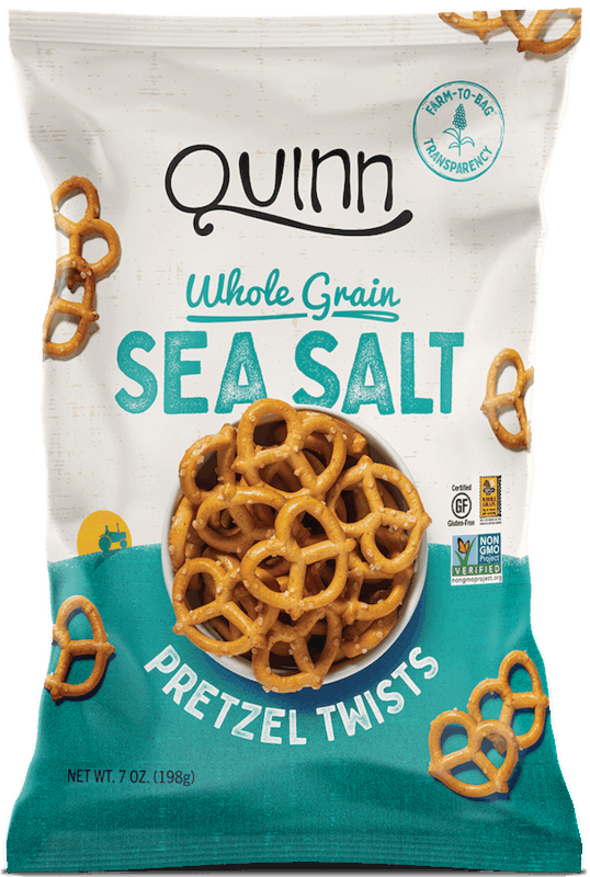 $1.00 for Quinn Pretzels (expiring on Friday, 10/02/2020). Offer available at multiple stores.