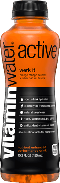 $1.00 for vitaminwater® active (expiring on Sunday, 09/02/2018). Offer available at Wegmans.