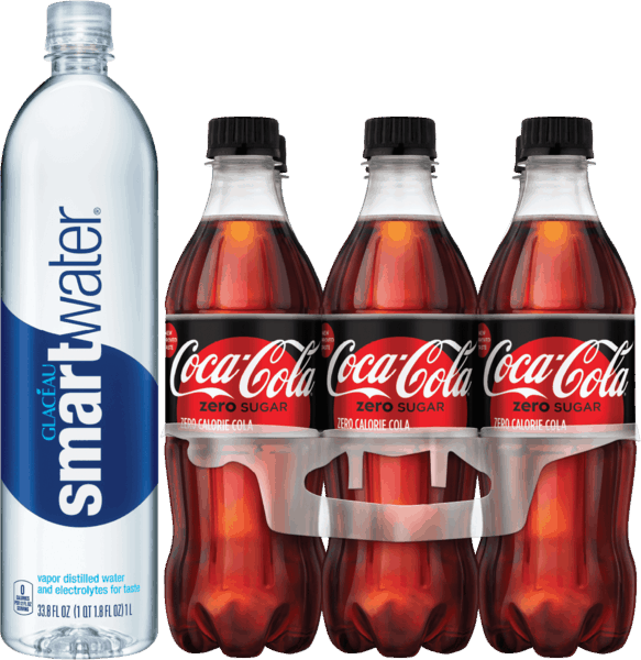 graphic about Coca Cola Printable Coupons titled $1.25 for smarer® and Coca-Cola® goods Combo. Present