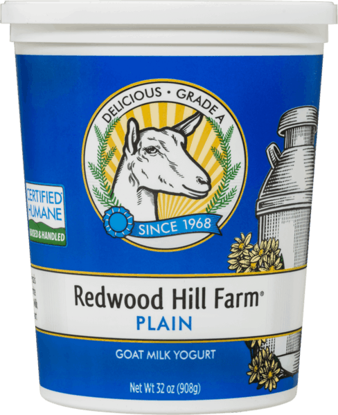 $1.50 for Redwood Hill Farm® Goat Milk Yogurt (expiring on Wednesday, 08/01/2018). Offer available at multiple stores.