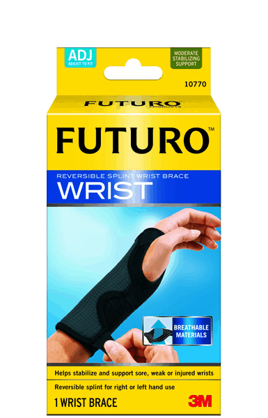 $1.00 for FUTURO™ Reversible Splint Wrist Brace Black, Adjustable (expiring on Thursday, 05/17/2018). Offer available at Target.