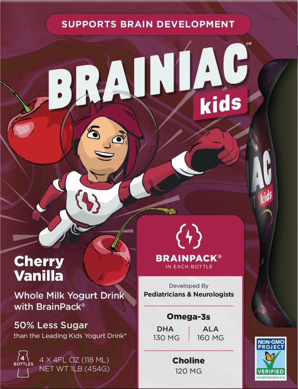 $1.00 for Brainiac Kids Yogurt Drink (expiring on Monday, 11/30/2020). Offer available at multiple stores.