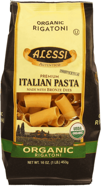 $0.75 for Alessi Organic Rigatoni (expiring on Monday, 02/10/2020). Offer available at multiple stores.