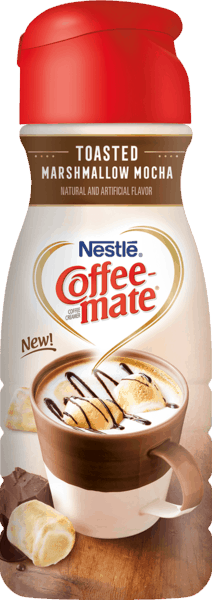 $0.50 for COFFEE-MATE® Toasted Marshmallow Mocha. Offer available at Walmart.