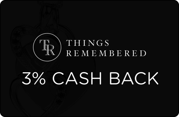 $0.00 for 4% cash back at Things Remembered (expiring on Wednesday, 01/31/2018). Offer available at Things Remembered.