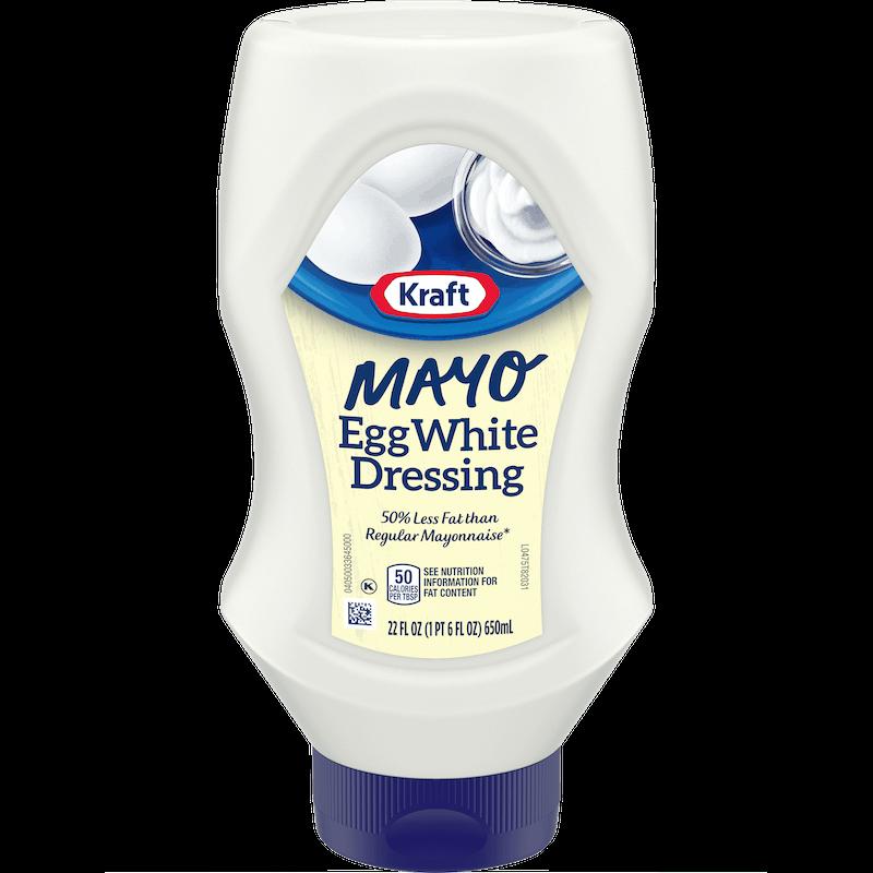 $0.75 for Kraft Mayo Egg White Dressing (expiring on Sunday, 09/06/2020). Offer available at Walmart, Walmart Grocery.