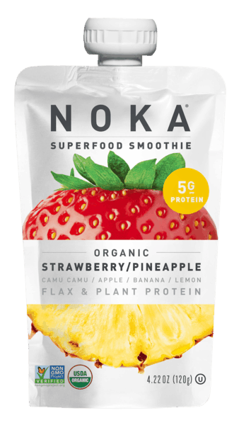 $0.50 for NOKA™ Organic Smoothie (expiring on Monday, 03/02/2020). Offer available at Wegmans, Whole Foods Market®, Lucky's Market, Sprouts Farmers Market.