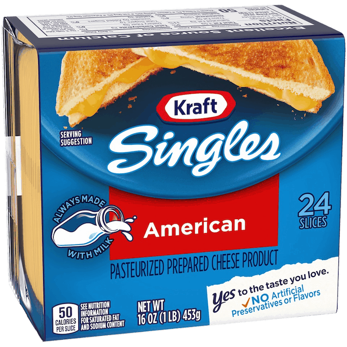 $0.50 for Kraft Singles (expiring on Saturday, 04/25/2020). Offer available at multiple stores.