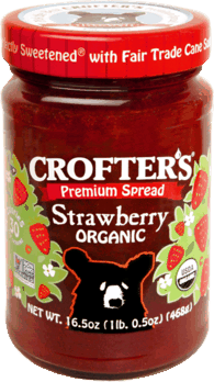 $0.50 for Crofter's Organic® Premium Fruit Spreads (expiring on Saturday, 06/30/2018). Offer available at Walmart.