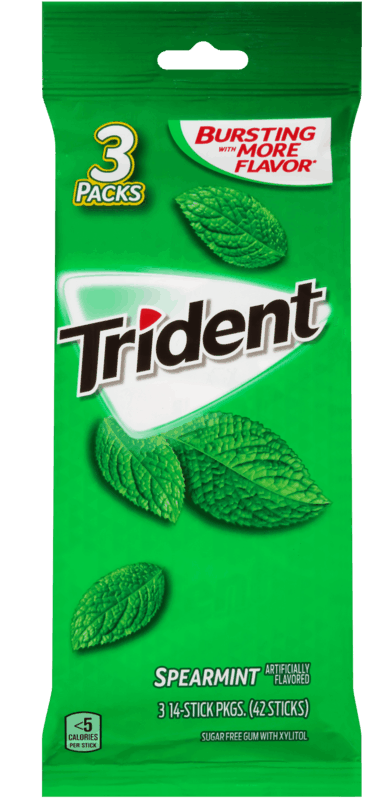 $0.50 for Trident & Dentyne Gum (expiring on Friday, 01/17/2020). Offer available at Walmart.