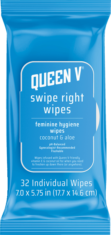 $1.50 for Queen V® Swipe Right Wipes (expiring on Thursday, 01/02/2020). Offer available at Target, Rite Aid.