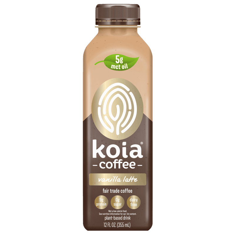 $1.00 for Koia Coffee - Vanilla Latte. Offer available at Whole Foods Market®.