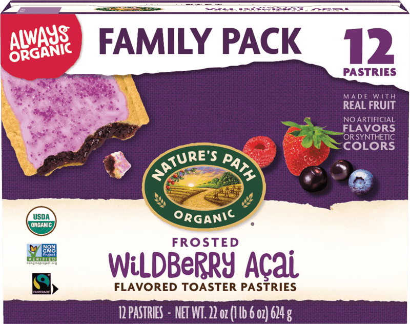 $0.50 for Nature's Path Organic Toaster Pastries (expiring on Sunday, 01/02/2022). Offer available at Walmart, Walmart Pickup & Delivery.