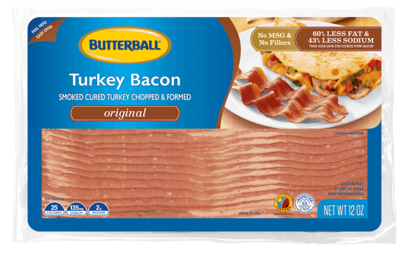$0.60 for Butterball® Turkey Bacon. Offer available at Walmart.