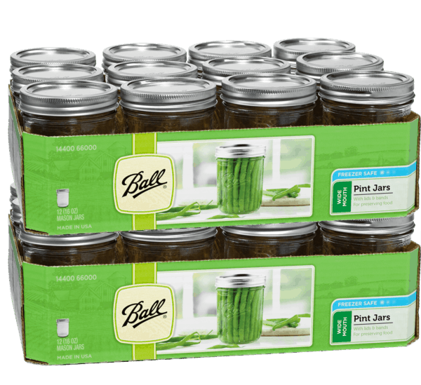 $3.00 for Ball®/ Kerr® 12 Pack Jars (expiring on Monday, 12/02/2019). Offer available at multiple stores.