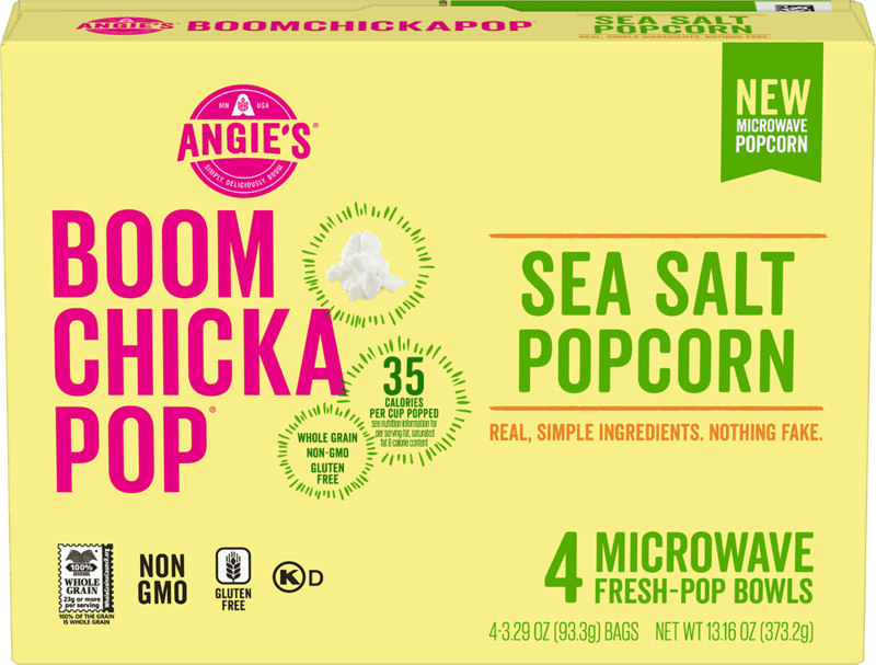 $0.50 for Angie's Boom Chicka Pop Popcorn Box (expiring on Tuesday, 06/02/2020). Offer available at Walmart.