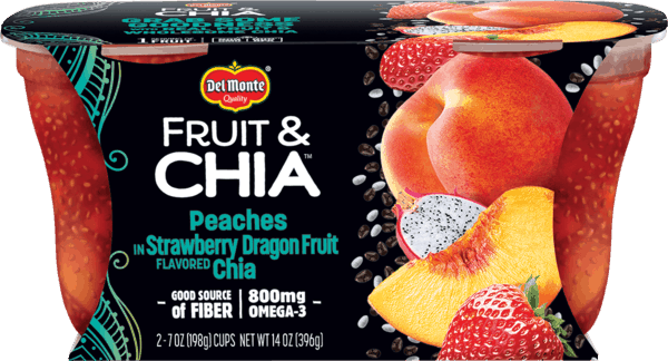 $0.50 for Del Monte® Fruit & Chia™ (expiring on Sunday, 03/17/2019). Offer available at multiple stores.