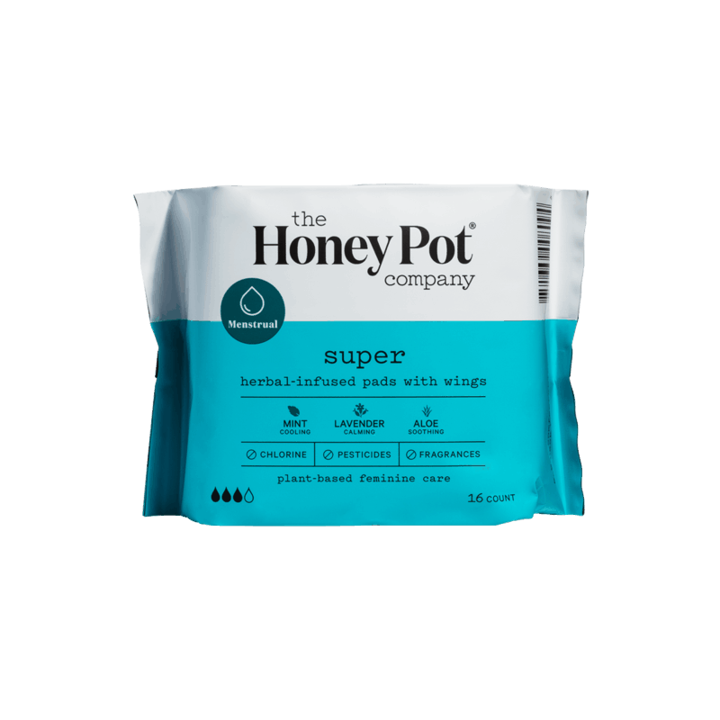 $1.00 for The Honey Pot Co. Pads or Pantiliners (expiring on Wednesday, 12/30/2020). Offer available at Raley's.