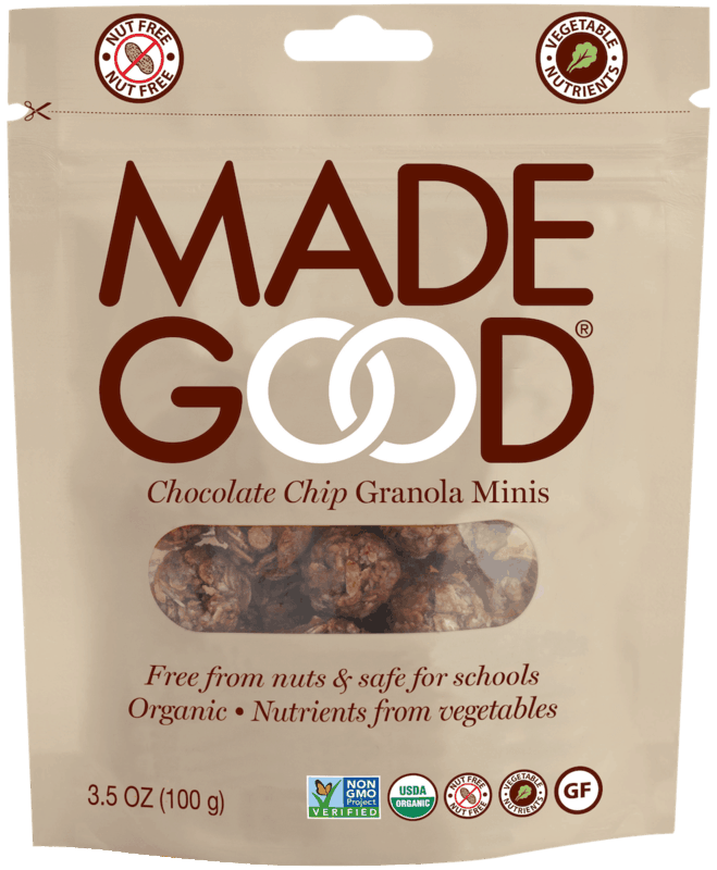 $1.00 for MadeGood Granola Minis (expiring on Saturday, 10/31/2020). Offer available at CVS Pharmacy.