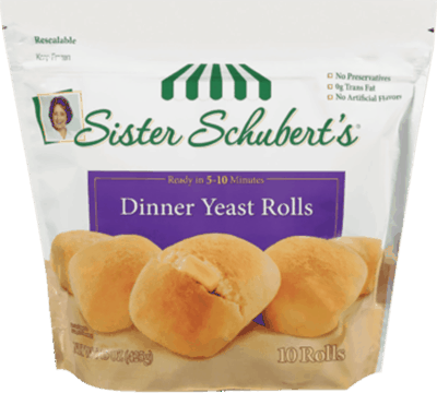 $0.50 for Sister Schubert's® Frozen Rolls (expiring on Wednesday, 11/01/2017). Offer available at Walmart.