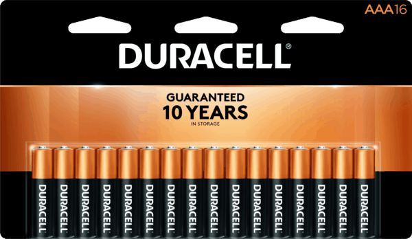 $2.00 for Duracell® Batteries. Offer available at multiple stores.