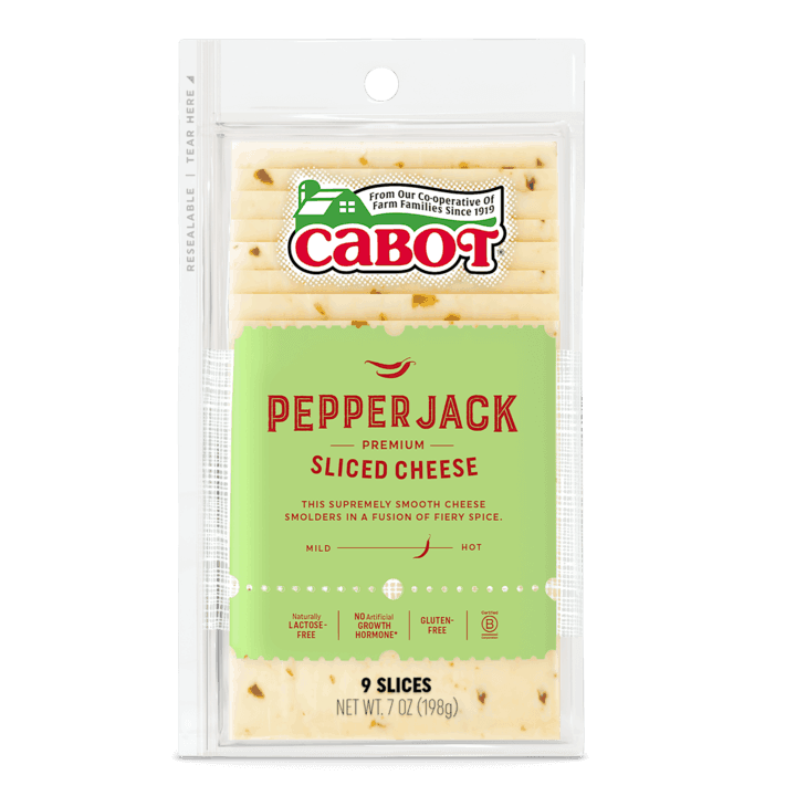 $0.75 for Cabot Shingled Sliced Pepper Jack Cheese (expiring on Thursday, 07/02/2020). Offer available at Schnucks.