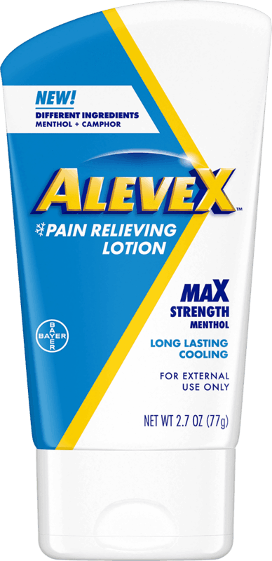 $1.00 for Aleve X Lotion (expiring on Monday, 01/31/2022). Offer available at multiple stores.