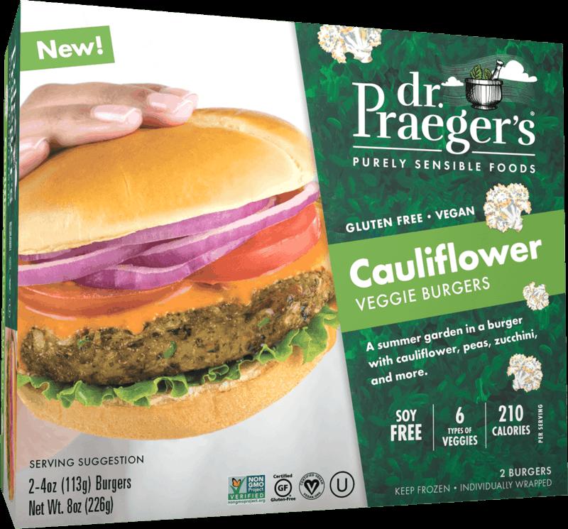 $0.50 for Dr. Praeger's Cauliflower Veggie Burger (expiring on Saturday, 10/16/2021). Offer available at multiple stores.