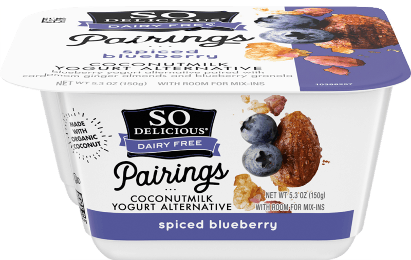 $1.00 for So Delicious Dairy Free Pairings Coconutmilk Yogurt Alternative (expiring on Sunday, 05/10/2020). Offer available at multiple stores.