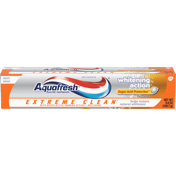 $1.00 for Aquafresh Toothpaste. Offer available at Walmart, Walmart Grocery.