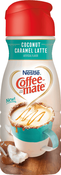 $0.50 for COFFEE-MATE® Coconut Caramel Latte (expiring on Wednesday, 01/02/2019). Offer available at Walmart.