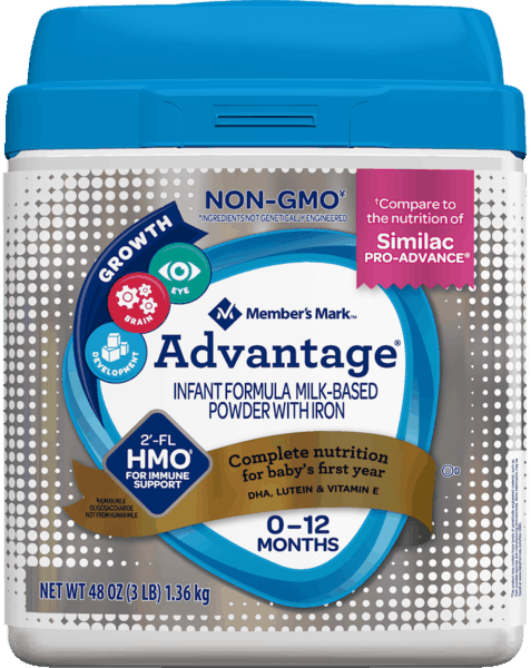 $4.00 for Member's Mark™ Advantage® Formula (expiring on Thursday, 01/02/2020). Offer available at Sam's Club.