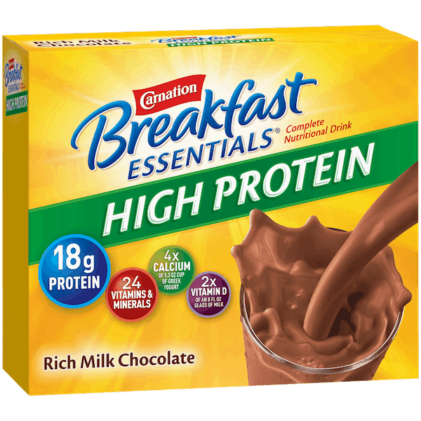 $1.25 for Carnation Breakfast Essentials® Nutritional Products. Offer available at Walmart.