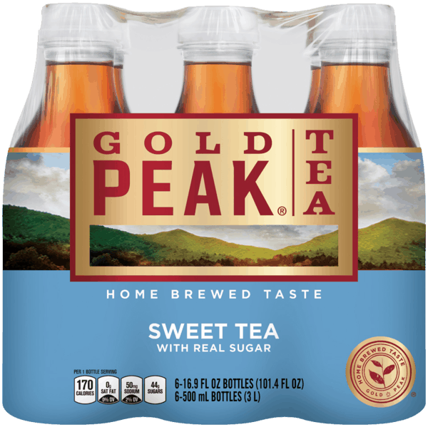 $0.75 for Gold Peak® Tea. Offer available at Walmart.