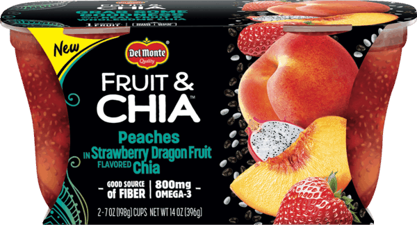 $0.75 for Del Monte® Fruit & Chia™ (expiring on Friday, 03/02/2018). Offer available at multiple stores.