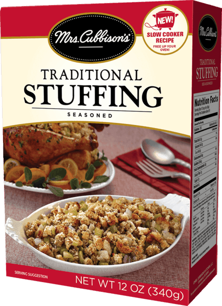 $0.50 for Mrs. Cubbison's® Stuffing (expiring on Sunday, 02/10/2019). Offer available at multiple stores.