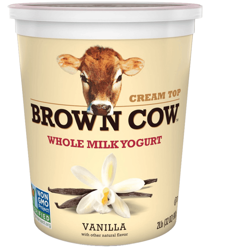 $1.50 for Brown Cow Cream Top Large Cup Yogurt (expiring on Sunday, 05/10/2020). Offer available at multiple stores.